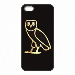 Wholesale Drake Cover - Drake Ovoxo logo Phone Covers Shells Hard Plastic Cases for iPhone 4 4S 5 5S SE 5C 6 6S 7 Plus ipod touch 4 5 6