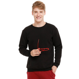 Wholesale Crochet Pattern Long Sweater - 2016 New Pattern Men's Sweater Round Neck Pullover Pure Cotton Sweater Male Leisure Time Trend Sweater Man