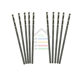 Wholesale Pcb Electrical - 10Pcs Micro HSS4241 material 1mm HSS Twist Drilling Bit Straight Shank Auger for Electrical Drill Tool DIY order<$18no track