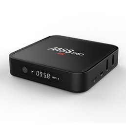Wholesale Core Lead - M8S PRO Android TV Box Amlogic S905X Android 6.0 TV BOX Fully Loaded 1GB 8GB With LED Display