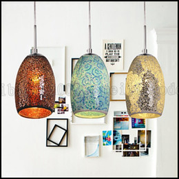 Wholesale Classic Cord - Traditional Classic   Tiffany   Vintage Painting Metal Pendant Lights Chandelier Pendant Lamp LLWA169