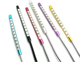 Wholesale Flexible Material - Metal Material USB LED light lamp 10LEDs flexible variety of colors for Notebook Laptop PC Computer