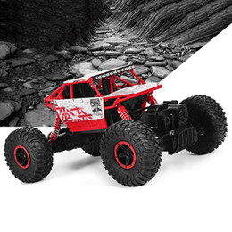 Wholesale electric rc car wheels - HB RC Car 2.4GHz 1:18 Scale RC 4 Wheel Drive Rock Crawler Toy Car High Power Motor Makes It Easy To Operate And Control +NB