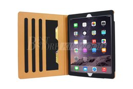 Wholesale Ipad Cases Designs - For iPad Pro 12.9 Leather Case Best New Design Protector With Holder And Card Wallet 7 Colors 100% Fit For ipad pro