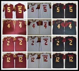 Wholesale Florida State Jerseys - 2017 Men and Youth Florida State Seminoles FSU College football jerseys Deondre Francois Deion Sanders Dalvin Cook Jameis Winston Jerseys