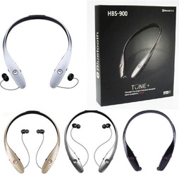 Wholesale Chinese Electronics Phones - HBS-900 HBS 900 Fashion Electronic Bluetooth Headphones Wireless Sport Headset For Iphone LG Apple Samsung Cell phone DHL Free Shipping