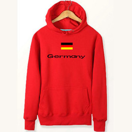 Wholesale Germany Coat - Germany flag hoodies Country banner new arrive sweat shirts Fleece clothing Pullover coat Outdoor sport jacket Brushed sweatshirts