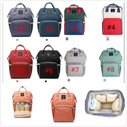 Wholesale Backpack Diaper - Mommy Nappy Bags Mommy Backpacks Brand Mom Nappies Bags Mother Backpack Diaper Maternity Backpacks Large Nursing Outdoor Travel Bag By DHL