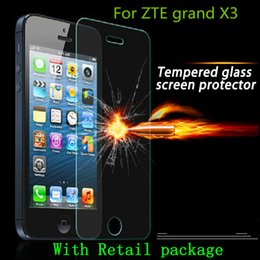 Wholesale Zte Grand X Screen - For ZTE grand X3 z959 Tempered Glass Screen Protector Explosion proof blade x9 blade X5 grand X max plus Z987 ZMAX 2 Z958