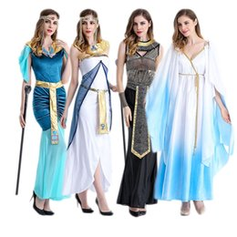 Wholesale Renaissance Princess Dresses - Halloween cosplay costume Arab national dress Egypt after Pharaoh Roman princess dress clothing