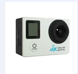 Wholesale v3 camera - 2016 V3 dual-screen camera motion action 170 degree wide-angle 4K2 inch travel motion DV camera wireless WIFI6 colors