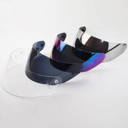 Wholesale Ls2 Helmets Blue - For LS2 FF352 helmet lens full face motorcycle helmet visor also suitable for LS2 FF351 FF369 FF384 helmet shield 5 color