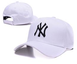 Wholesale Ny Snapback Adjustable - 2016 New Baseball Caps NY Embroidery Letter Sun Hats Adjustable Snapback Hip Hop Dance Hats Summer Outdoor Men Women White Black Visor