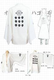 Wholesale Free Naruto Games - Japanese Anime Naruto Cosplay Otsutsuki Hagoromo (Ootutuki Hagoromo)Costume Chiffon Coat sleepwearFor Men and Women Cosplay or Daily Use