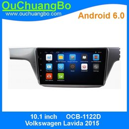 Wholesale Multi Media Dvd Player - Ouchuangbo car dvd multi media android 6.0 system for Volkswagen Lavida 2015 with bluetooth 3g wifi 1080P video SWC