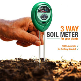 Wholesale Multifunction Tester - Multifunction Plant Growth Soil Tester Meter Detection of Moisture Light PH Value Let the Plants Grow Healthily.