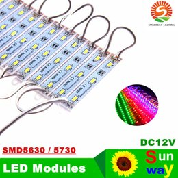 Wholesale Leds Ip65 - High Power 3 Leds SMD 5630 5730 Led Modules DC 12V High Qualtiy Backlight Modules For Channer Letter IP65 waterproof white  warm white