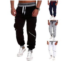 Wholesale Hiphop Harem Pants - Wholesale-XXXXL Drawstring Elastic Waist Harem Pants Mens Outdoor Sport Trousers Gym Clothing Hiphop Sweatpants Streetwear Dance Joggers