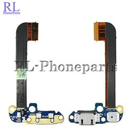 Wholesale Usb Audio Jack Charger - 10pcs lot Usb Dock Connector Charger Charging Port Flex Cable Ribbon For HTC One M7 M8 M9 Mic Headphone Audio Jack (RL)