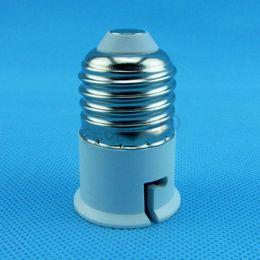 extensor e27 Rebajas E27 B22 BOMBILLA CONVERTIDOR ADAPTADOR EXTENDER Base de la lámpara