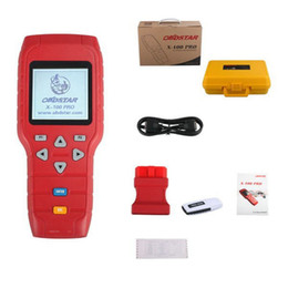 Wholesale Obd Programmers - Wholesale-Original OBDSTAR X-100 PRO X100 PRO Auto Key Programmer D Type for Odometer and OBD Software Function