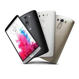 "Wholesale Andriod Unlocked - Original LG G3 5.5"" Quad Core 2GB 16GB D855 D851 D850 UNLOCKED Smart Phone 3MP NFC GPS WCDMA Andriod Phone Refurbished"