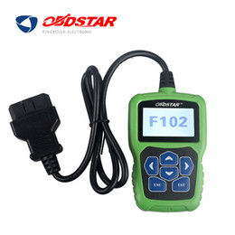 Wholesale Nissan Pin Code - Original OBDSTAR F102 for Nissan Infiniti Automatic Pin Code Reader Pincode with Immobiliser and Odometer Function