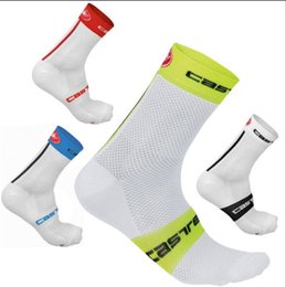 Wholesale Nylon Sports - High quality Professional brand sport socks Breathable Road Bicycle Socks Mountain Bike Socks Racing Cycling Socks