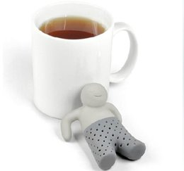 Wholesale Herbal Care - Health Care Mr.Tea Infuser Mr Tea Strainers Tea Gift Mr.Tea Leaf Strainer Filter Silicone Herbal Infuser Diffuser Wholesale
