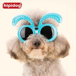 Wholesale dog wears - Hipidog Summer Pet Dog Cute Cool Sunglasses Eye Wear Protection Small Dog Cat Accessories Fashion Pet Grooming Products