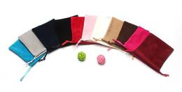 Favorecer bolsas de regalo online-016 Premium Organza Bolsas de regalo de boda Favor de la boda Bolsas de joyería Embalaje de la joyería Bolsa de teléfono celular Bolsas de regalo Regalos para las mujeres