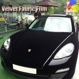 Wholesale Gluing Fabric - Velvet Fabric Velvet Film Suede Film Car Sticker With Bubble Car Interior Sticker Car Body Decoration Sticker