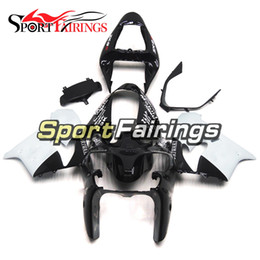 Wholesale Kawasaki Aftermarket Motorcycle Fairings - Fairings For Kawasaki ZX-9R ZX9R 02 03 2002 2003 ABS Motorcycle Fairing Kit Aftermarket Motorcycle Bodywork Cowlings Black White Covers
