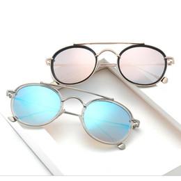 Wholesale Polygon Mirror - 2017 New Fashion Small Frame Polygon Sunglasses Women Men Vintage Brand Designer Mirror SunGlasses Female Optical Eyewear YW156
