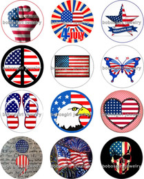 Wholesale Characters Wholesalers Usa - Free shipping USA Snap button Jewelry Charm Popper for Snap Jewelry good quality 12pcs   lot Gl220 jewelry making DIY