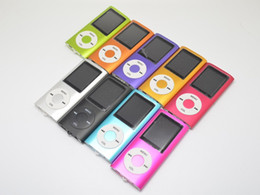 """Wholesale Cheap 16gb Mp3 - Hot Sale Cheap Real Capacity 16GB Slim 1.8"""" 4th LCD MP3 MP4 Player FM Radio Video Multi Colors Freeshipping"""