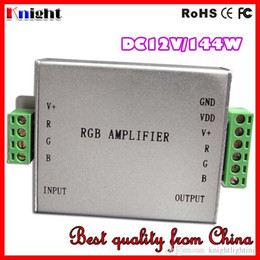 DC12V 24V 30A 360W RGB AMPLIFICADOR Controlador 3528 5050 12A / 144W RGB Amplificador de luz de tira de LED 360W luz de tira solo ampliar ampliar fábrica desde fabricantes