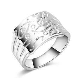 Wholesale Vintage Fine China - New Vintage Silver Plated Ring for Woman 925 Sterling Silver Fine Jewelry AAA+ Cubic Zirconia Mood Rings Wedding Gift