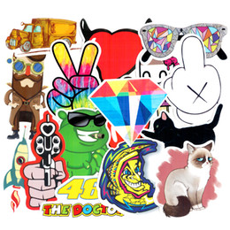 Wholesale Sports Piece - Diy stickers posters wall stickers for kids rooms home decor sticker on laptop skateboard luggage wall decals car sticker 20pcs