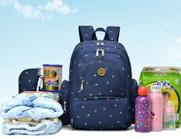 Wholesale Nurse Cases - 2017 New Fashion Mummy Maternity Nappy Bag Large Capacity Baby Bag Travel Backpack Nursing Bag Baby Care Diaper Pack