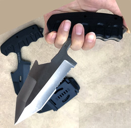 Wholesale Big Hunting Knives - Extrema Ratio Camping outdoor survival special Safe Maker Push Dagger Knife big cool Fixed blade knife Full tang knife knives with sheath