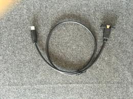 Wholesale Extension Hdmi Male Female - Micro HDMI Male to Female M F Extension Panel Mount Cable