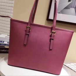 Wholesale Handbag Navy - Genuine Leather Fashion Bags 2017 Ladies handbags designer bags women tote bag luxury brands bags Single shoulder bag..