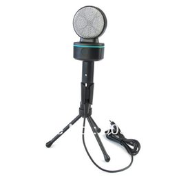 Wholesale Computers Laptops Notebooks - 100% Original SF-930 Condenser Microphone For Laptop Notebook PC Computer Microphones With Package High Quality Free Shipping