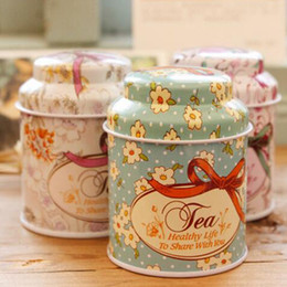 Wholesale Tea Tin Box Vintage - 2016 new Vintage style flower series tea box, Cut tin box,storage case,organizer, Iron case,storage container