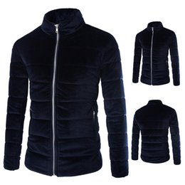 Wholesale Men Fashion Simple Coat Style - Fall-2015 new winter College style warm simple coats men casual Stand collar coats jackets for men plus large size M-5XL