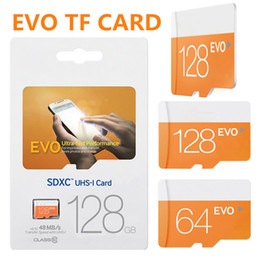 Wholesale Flash Memory 256gb - EVO Micro sd TF Memory Card C10 Flash SDHC SD Adapter SDXC Package 128GB 256GB High-speed download