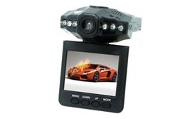 Wholesale Night Vision Car Camera System - DHL HD DVR 100W pixels LCD 2.5'' Car 1080P Dash cams Car DVR recorder camera system black box H198 night version Video Recorder dash Camera