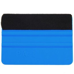 Wholesale Car Wrap Squeegee - Wholesale- Car Squeegee Decal Vinyl Plastic Wrap Applicator Soft Felt for Edge Scraper Car Care Tool