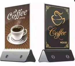 Compras usb online-Meun Power Bank 10000mAh Gran capacidad Dual USB 2.1A adaptador de cargador de escritorio con AdPositionId para restaurante Coffee Shop trabajo en teléfono celular